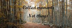 Collet moments not things #11