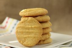 Fork Cookies (or Fork Biscuits) from Karen's Kitchen Stories Cookie Recipes, Dessert Recipes, Desserts, Greek Cake, Biscuits, Food Processor Recipes, Good Food, Fun Food, Bakery