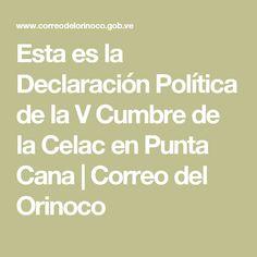 Esta es la Declaración Política de la V Cumbre de la Celac en Punta Cana | Correo del Orinoco