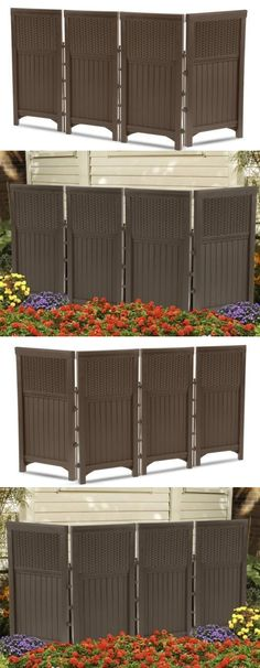 Privacy Screens Windscreens 180991: Outdoor Privacy Screen Panels Fence  Guard Shield Garden Deck Patio Enclosure