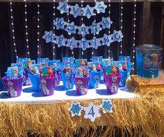 Frozen Olaf Favor Buckets