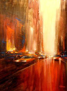 New York portayed by Van Tame