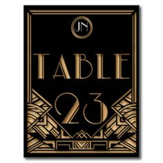 $$$ This is great for          Black Gold Art Deco Gatsby Style Table Number 23 Postcards           Black Gold Art Deco Gatsby Style Table Number 23 Postcards We provide you all shopping site and all informations in our go to store link. You will see low prices onDeals          Black Gold A...Cleck Hot Deals >>> http://www.zazzle.com/black_gold_art_deco_gatsby_style_table_number_23_postcard-239580511802275097?rf=238627982471231924&zbar=1&tc=terrest