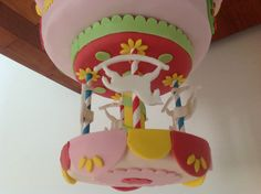 carousel cake made by me