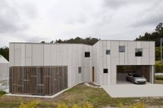 EQUITONE facade materials. House in Uxes, Spain. Terceraderecha architects. #architecture #material #facade www.equitone.com