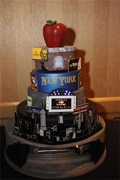NYC Groom's Cake