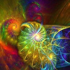 Apophysis, 07.05.2004 Fractals In Art, Fractal Art, Fibonacci Spiral, Zen Art, Visionary Art, Patterns In Nature, Spirals, Color Theory, Optical Illusions