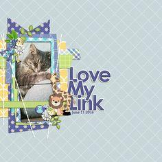 Love My Link by Jennifer. Kit: Precious Baby Boy by HotFlash Designs…