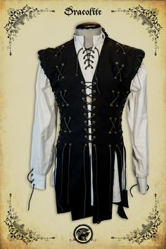 Knight Jacket medieval clothing for men LARP costume and cosplay by Dracolite on Etsy https://www.etsy.com/listing/191226435/knight-jacket-medieval-clothing-for-men