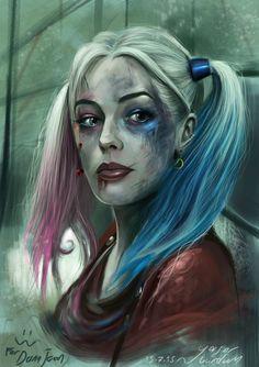 Harley quinn - Suicide squad ( to Dana Jean ) by vurdeM on DeviantArt