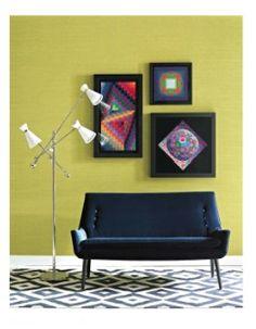 60s styled couch! #jonathanadler