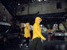 adidas has got you covered. In Yellow. With the jacket. Adidas Presents, Shelter, You Got This, Raincoat, Yellow, Jackets, Fashion, Rain Gear, Down Jackets