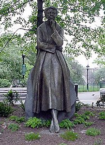 Eleanor Roosevelt Monument  Riverside Park New York City