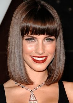 hair styles photos 43 best hair cuts medium to bob bangs 4796