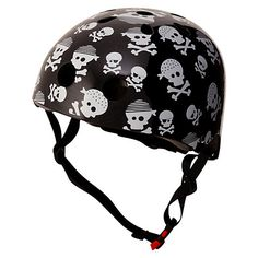 Buy Kiddimoto Skullz Helmet, Small Online at johnlewis.com