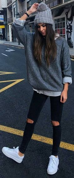 cute sweaters for fall Check out our latest article cute fall outfits for women. It will tell you about fall outfits for teen girls for school, fall outfits women casual. Winter Mode cute sweaters for fall Fall Outfits For Work, Cute Fall Outfits, Casual Winter Outfits, Autumn Casual, Autumn Outfits For Teen Girls, Winter Sweater Outfits, Young Mom Outfits, Going Out Outfits For Women, Winter Outfits Women 20s