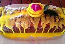 Αρωματικό κέικ λεμονιού με Απλά τέλειο γλάσο λεμονιού Sushi, Waffles, Breakfast, Cake, Ethnic Recipes, Desserts, Food, Breakfast Cafe, Pie Cake