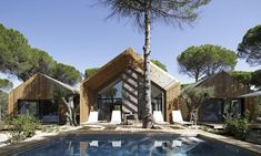 Stunning Beach Hotel Getaway in Comporta [Portugal] – Trendland Online Magazine Curating the Web since 2006 Beach Hotels, Beach Resorts, Hotels Portugal, Cork Tree, Hotel Architecture, Kid Pool, Plunge Pool, Beach Design, Brick And Mortar
