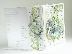 Ten album tylko mnie utwierdził w tym,   że kolor zielony kocham ponad wszystko :).. i niebieski :)     Zobaczcie najnowszy projekt z wyk...