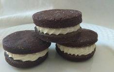 Gluténmentes Oreo keksz barna rizslisztből Cheesecake, Muffin, Breakfast, Healthy, Desserts, Recipes, Food, Morning Coffee, Tailgate Desserts