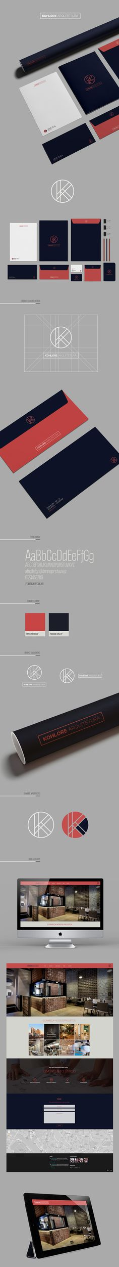 Kohlore Arquitetura branding by Liv Creative Works
