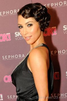 old hollywood glam hair updo - Google Search