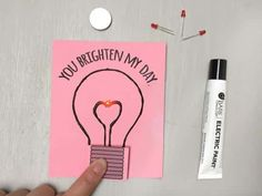 Cool project from http://www.kiwicrate.com/projects/Light-Up-Valentine/2562: Light-Up Valentine