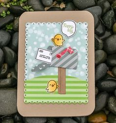 Lawn Fawn Happy Mail and Love Letters