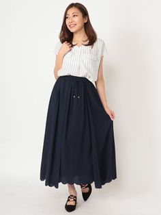 Fabulous Angela 裾スカラマキシスカート