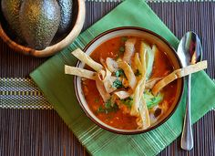 AWESOME TORTILLA SOUP