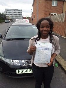 Congratulations to Yetunde - http://ultimatedriving.co.uk/congratulations-yetunde/