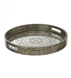 Wooden tray in antique silver color. Kinds Of Shapes, Metal Trays, Silver Color, Antique Silver, Decor, Collection, Antiquities, Decoration, Decorating