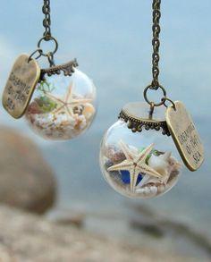Dreaming of the sea necklace Beach necklace Ocean por Maristella890