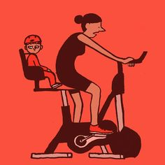 Graphic Designer Jean Jullien (French: 1983) - These christmas kilos are gonna be hard to lose