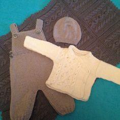 Комплектик для малыша 3-6 месяцев #вязание