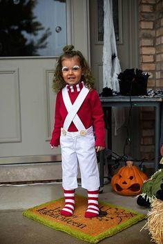 Willy Wonka Oompa Loompa Costume