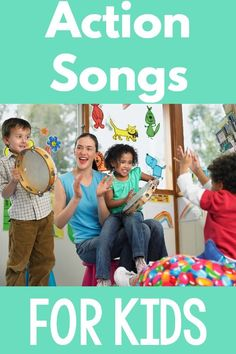 Action Songs For Kids - Examples and Benefits. if you are looking for songs to add music and movement to the day look no further! Check out all these ideas for adding movement with music! Fine Motor Activities For Kids, Movement Activities, Social Activities, Sensory Activities, Infant Activities, Physical Activities, Preschool Activities, Sensory Play, Movement Songs