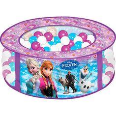Foto 1 - Piscina de Bolinhas Líder Brinquedos Frozen