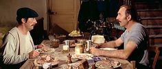 Bertrand Blier, Cinema, France, Anti Stress, The Man, Film, Passion, Table, Eat