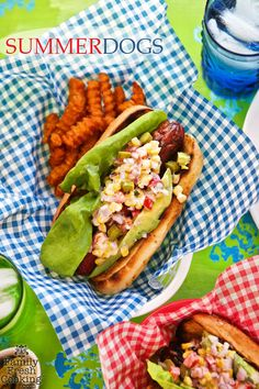 Celebrate summertime with these yummy hot dog ideas: http://www.bhg.com/blogs/delish-dish/2014/07/16/summer-dogs-recipe/?socsrc=bhgpin080214summerdogs