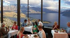 """New Zealand - The Restaurant Suspended Above a Lake """"The Skyline"""""""