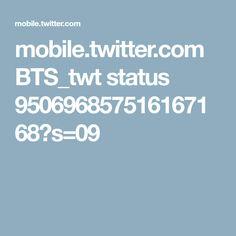 mobile.twitter.com BTS_twt status 950696857516167168?s=09