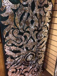 icu ~ DIY Home Decor Ideas on a Budget - Mirror Mosaic Mosaic Wall Art, Mirror Wall Art, Mirror Mosaic, Diy Mirror, Tile Art, Mosaic Glass, Mosaic Tiles, Glass Art, Mosaics