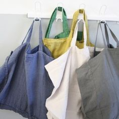 Washed linen bag (many colors) - Le Repère des Belettes