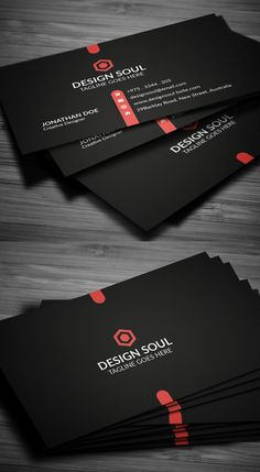 Dark Business Card Design #branding #businesscardtemplates #businesscards #visitingcard