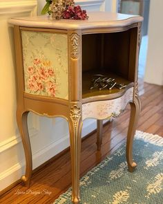 160 Likes, 19 Comments - LauraDesignsShop Cottage Furniture, Farmhouse Furniture, Metallic Painted Furniture, Furniture Painting Techniques, Diy Home Repair, Buy Furniture Online, Modern Masters, Modern Farmhouse Style, All Modern