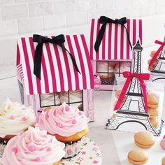 Paris Poodle Cupcake Box