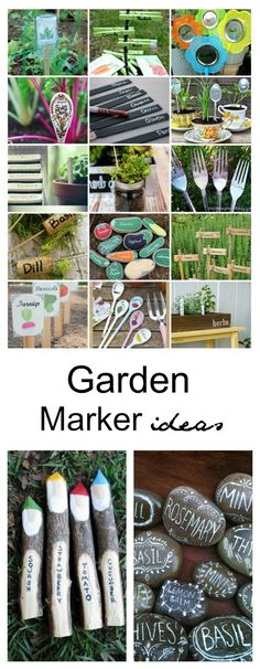 How do you identify your plants in the garden after you have planted the seed? I usually use Garden Markers to help me to know what plants are what.