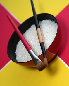 Rice Painting! Great texture and use of motor skills. Can print out or paint a pictures (for example the American flag) then have students place appropriate colored rice on picture.