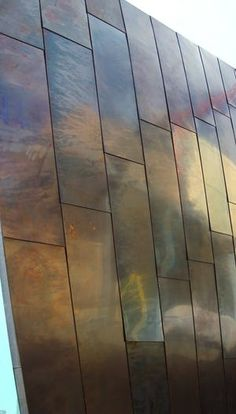 Architectural Details Wall Cladding Copper Clad